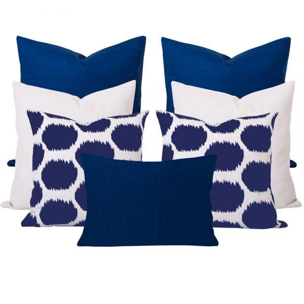Arzu Blue 7 Cushion Set