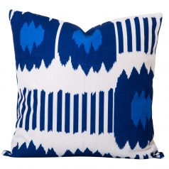 Bayou-Blue-Ikat-Cushion