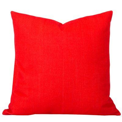 Georgia Plain Orange Cushion