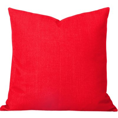 Georgia Plain Orange Cushion