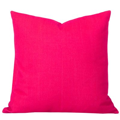 Georgia Plain Pink Cushion