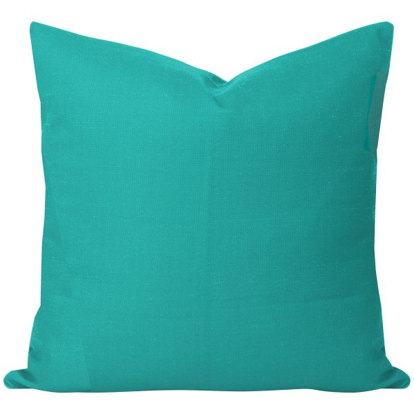 Georgia Plain Turquoise Cushion