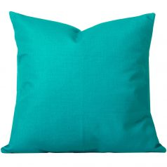 Georgia-Plain-Turquoise-Cushion