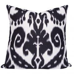 Orient-Black-Ikat-Cushion