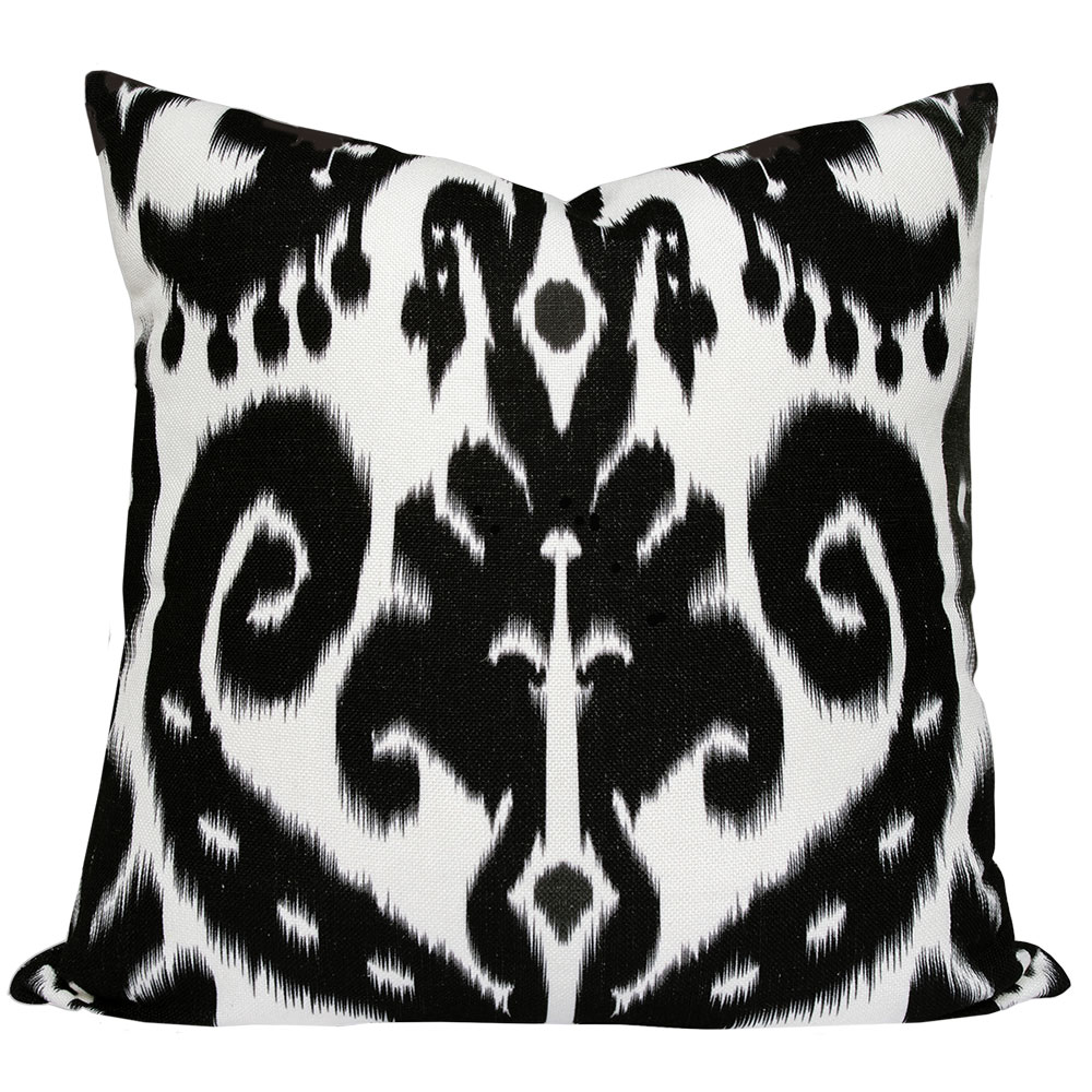 Orient-Black-Ikat-Cushion2