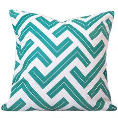 Zedd-Two-Turquoise-Geometric-Cushion