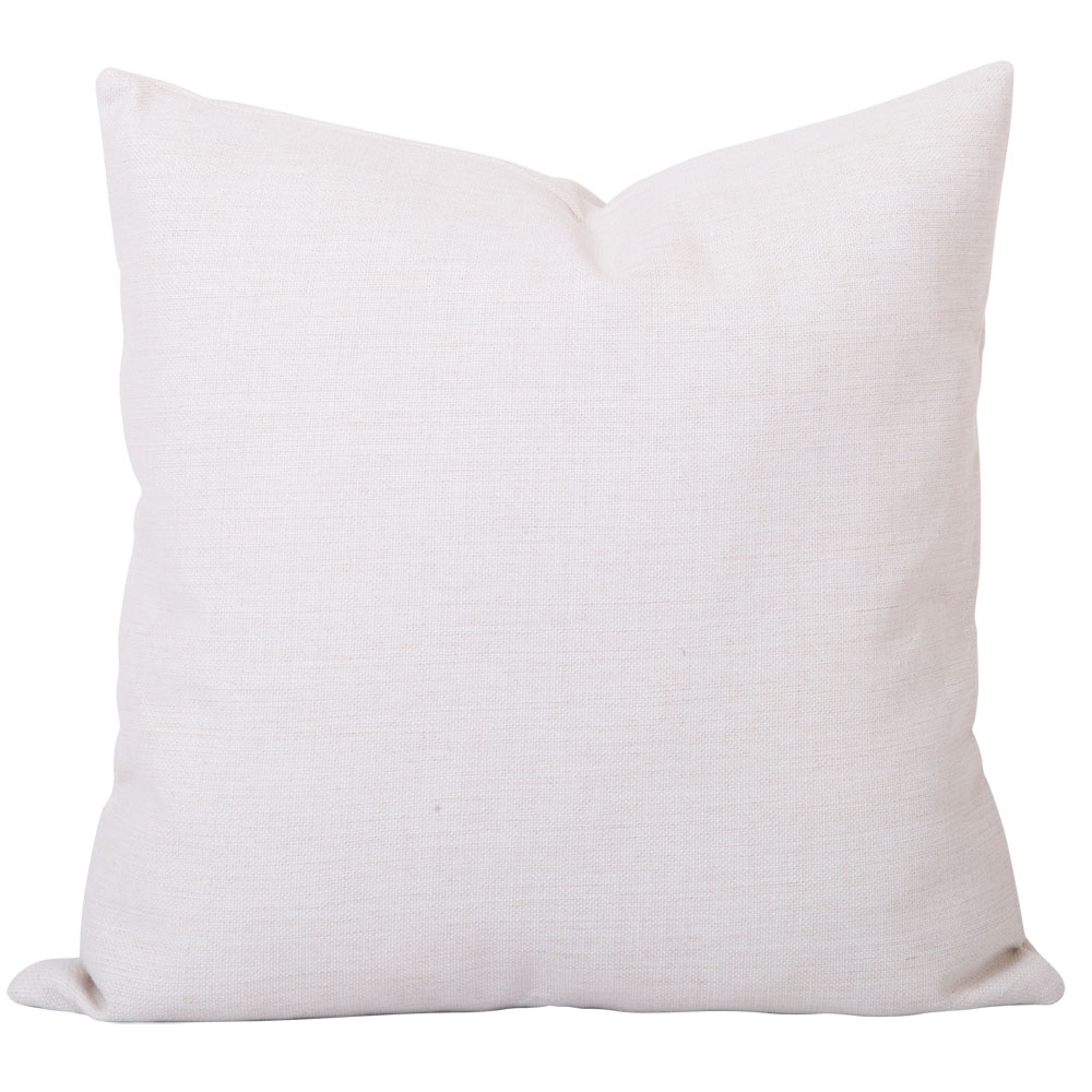 Georgia Plain White Cushion