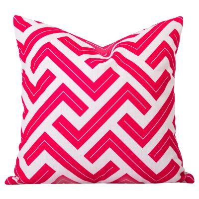 Pink-Geometric-Cushion