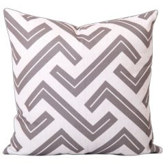 Zedd Two Taupe Geometric Cushion Cover CB0025