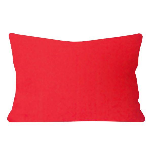 Georgia Plain Orange Rectangular Cushion