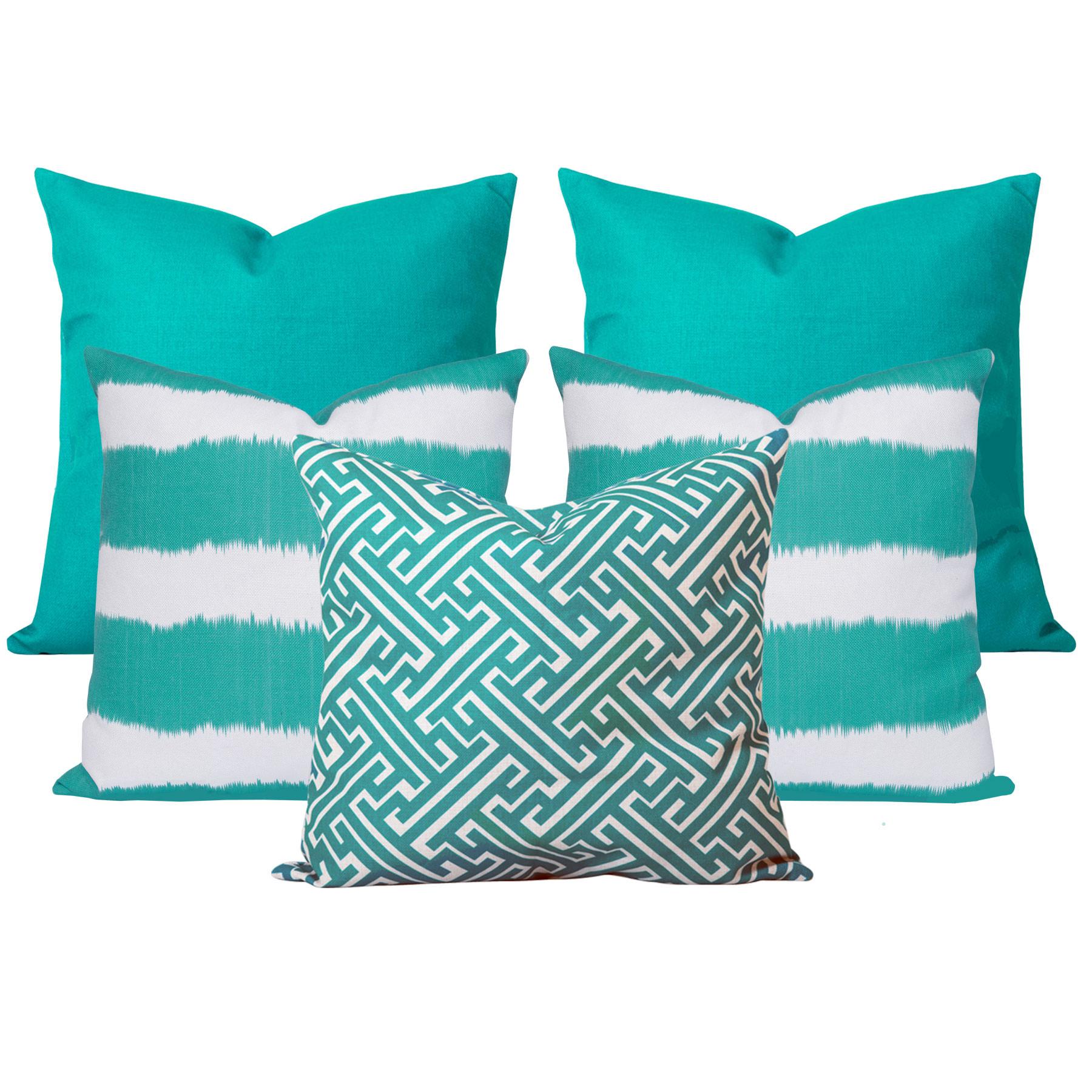 Georgia-Bayou-Turquoise-5-Cushion-Set