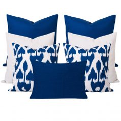 Amare Blue 7 Cushion Set