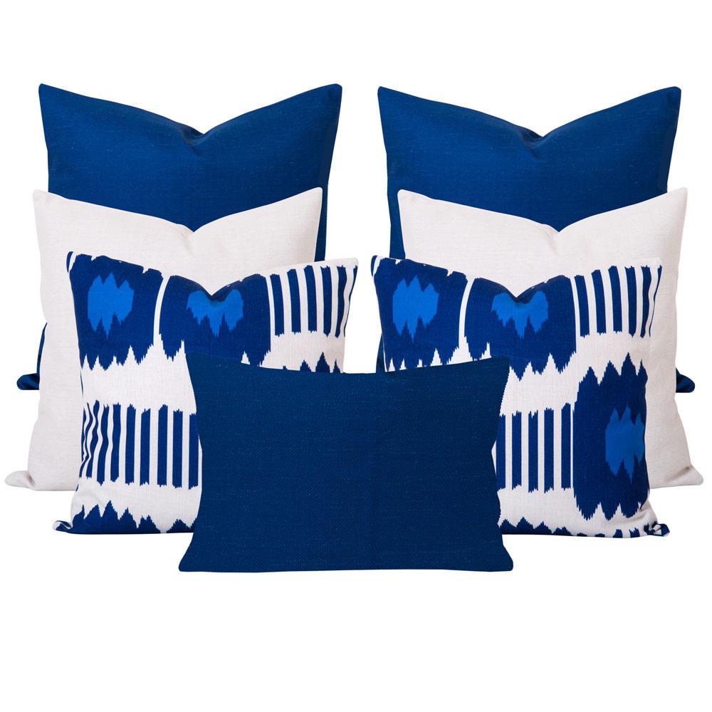 Blue-Bayou-Ikat-7-Cushion-Set