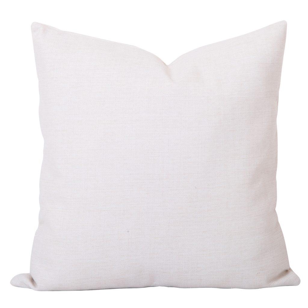 Georgia Plain White Cushion