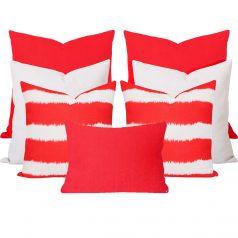 Georgia-Bayou-Orange-7-Cushion-Set