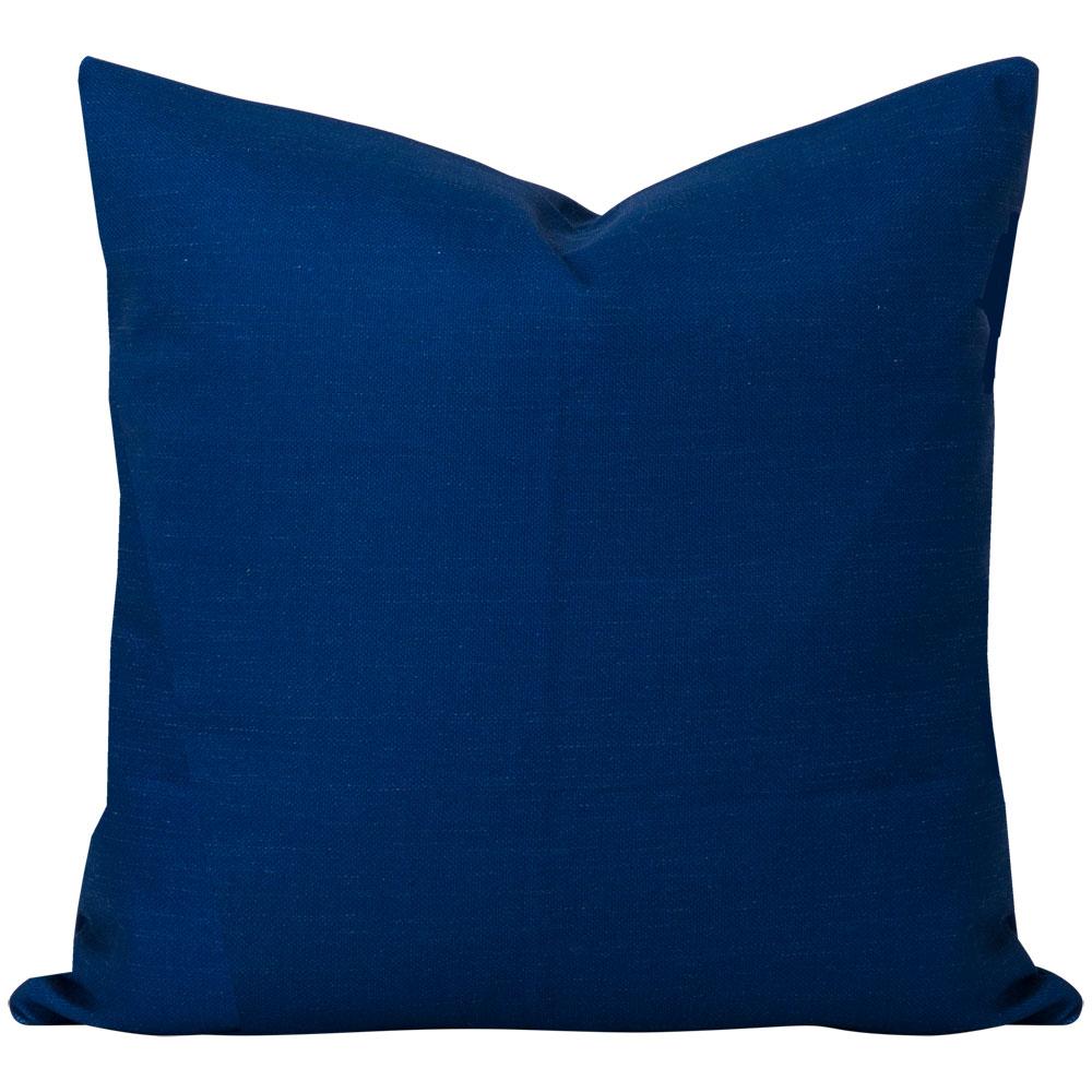 Georgia Plain Navy Blue Cushion