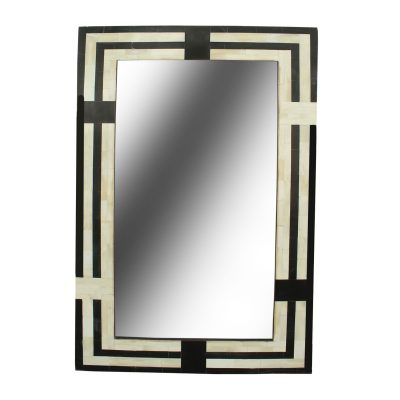 Lani Bone Inlay Rectangular Mirror